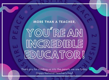 Celebrate Educators Everywhere This Week!