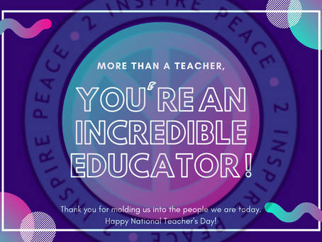 Celebrate Educators Everywhere This Week!