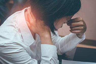Nackenschmerzen durch Muskelverspannungen