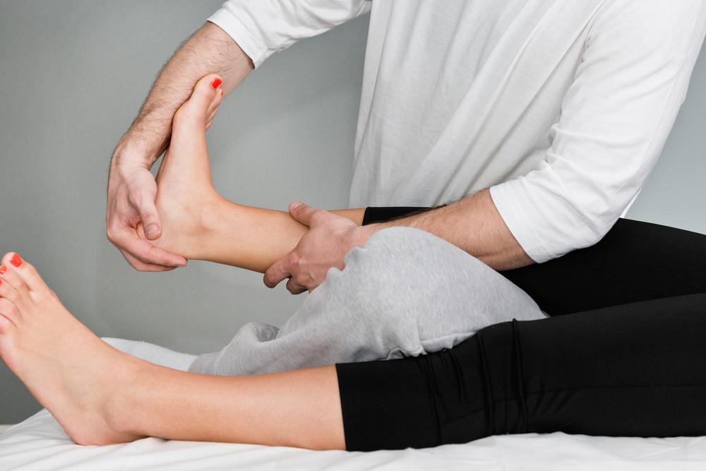 Chiropraktische Behandlung