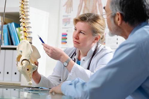 1x Erstbesuch / Chiropraktische Untersuchung inkl. Behandlung