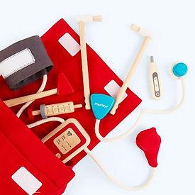Plan Toys - Doctor set