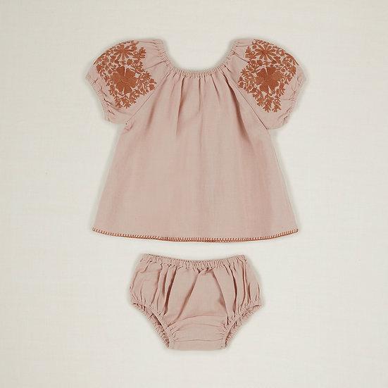'Barbara' Tunic Set - Pink Sand