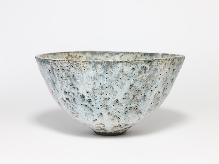 Stone Grey Bowl with Rutile