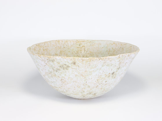 Pale Pink & Green Bowl with Zinc