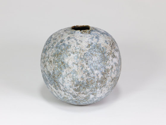 Speckled Blue & Lilac Pod with Manganese