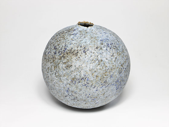 Silver Blue Pod with Manganese