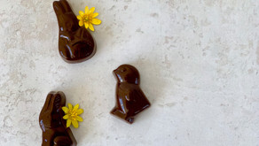 Påskechokolader med appelsinfyld