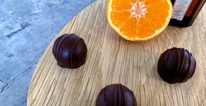 Orangetrøffel med Cointreau