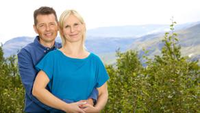 Bryllupsrejse med rygsæk i Skarvheimen
