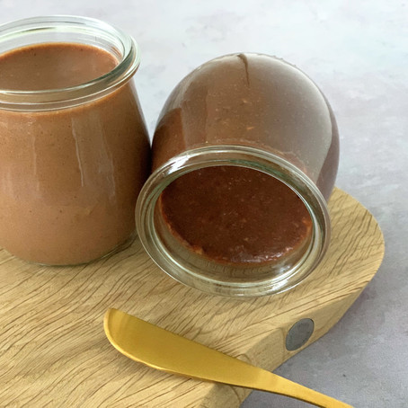 Chokolade-nøddecreme