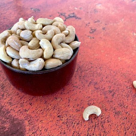 Saltede cashewnødder