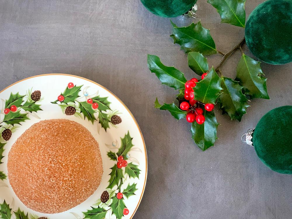 Veganske juleboller med marcipanremonce og nougat