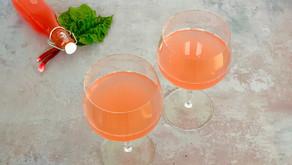 Mocktail med rabarber og GinISH