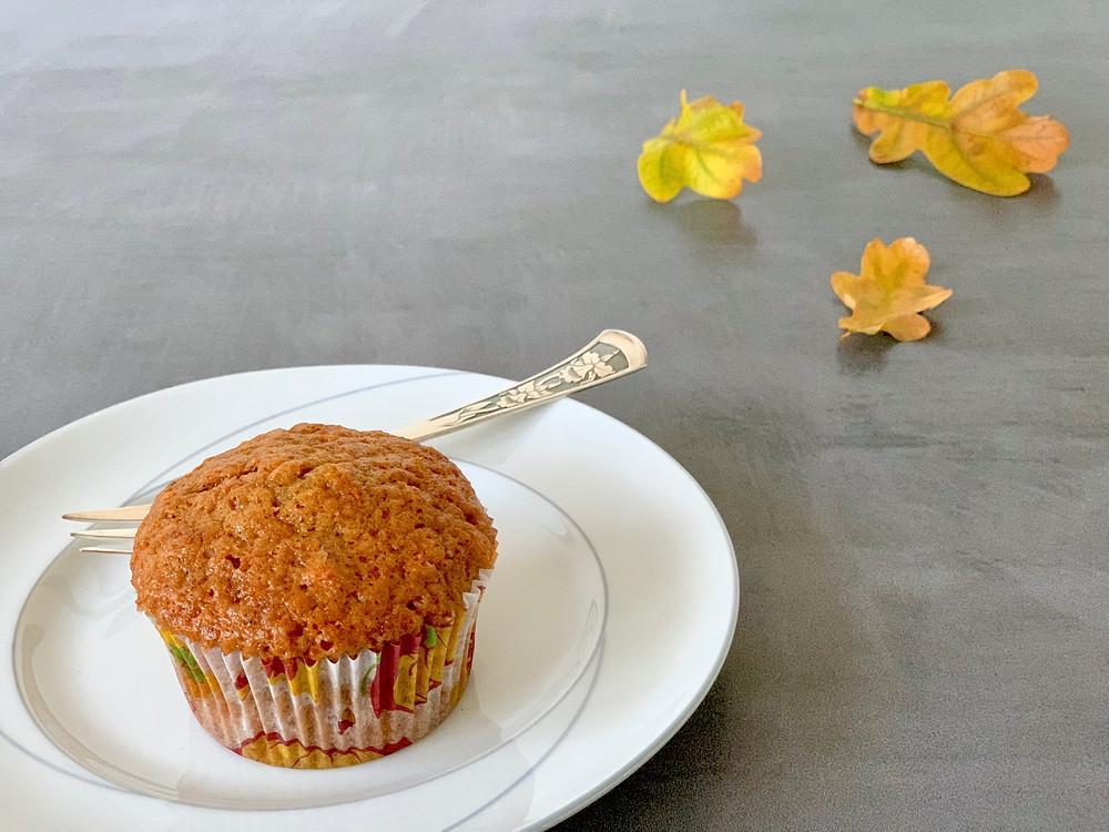 Veganske græskarmuffins