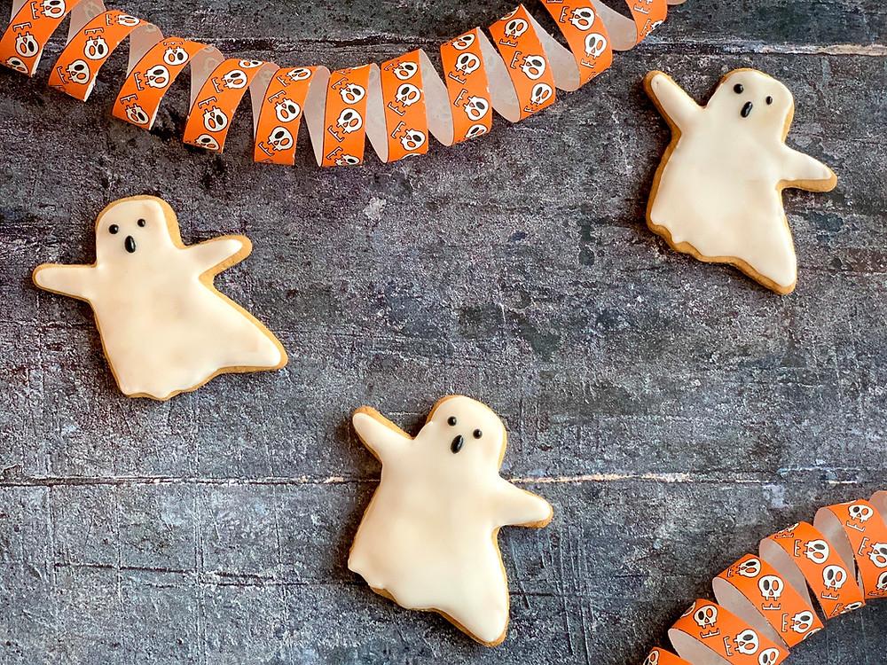 Veganske små spøgelseskager