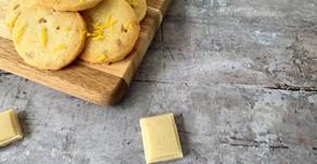 Citronspecier med hvid chokolade