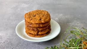 Cookies med havtorn og chokolade