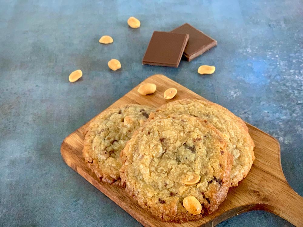 Veganske peanutbutter cookies