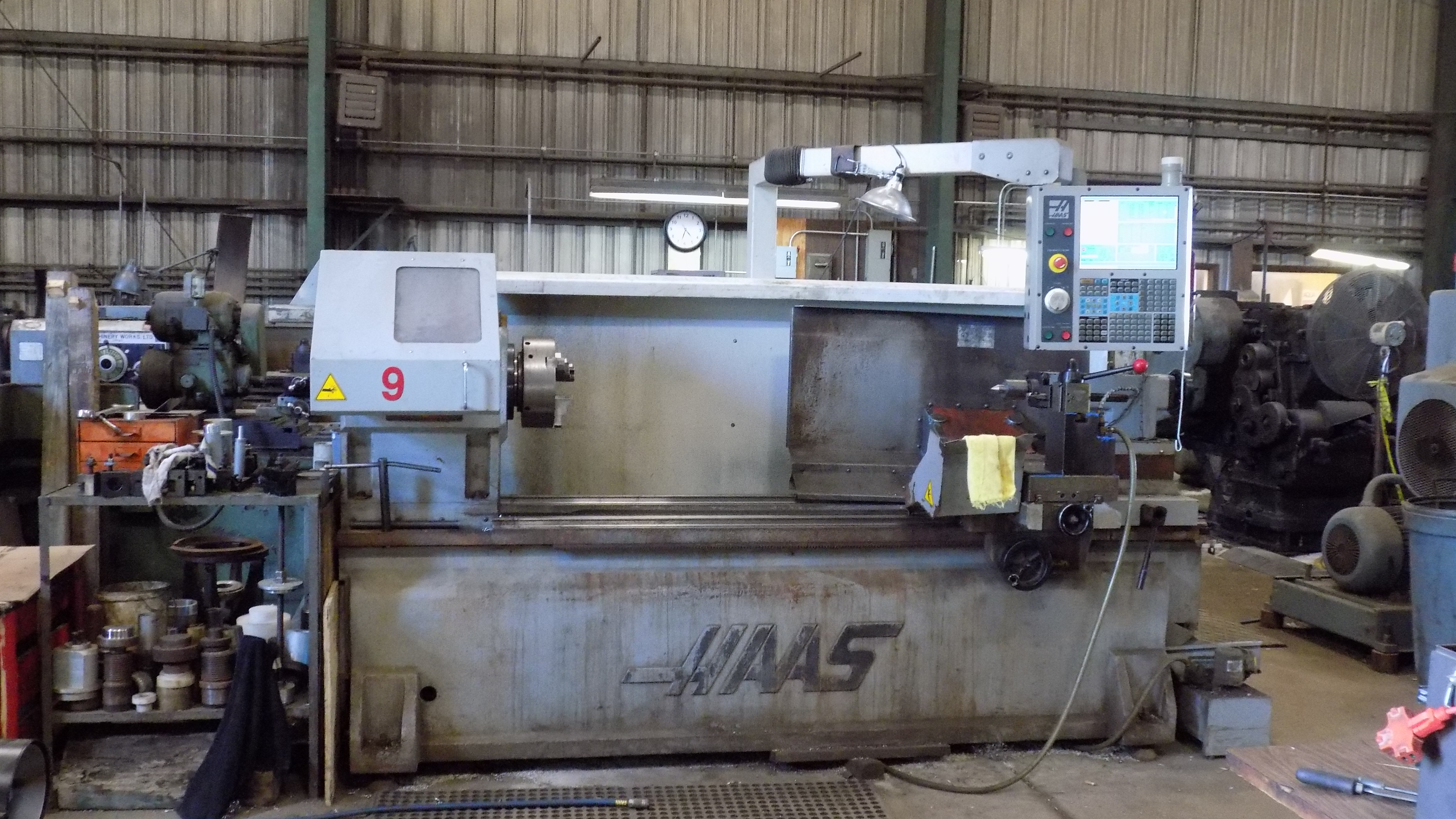 CNC Haas Lathe