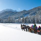 Sleigh ride to the Jägersee