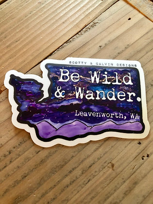 Wild and Wander-Large 4x2.6""