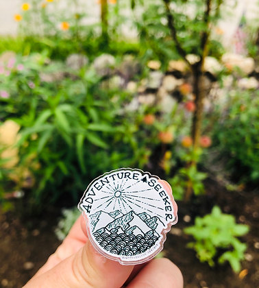 Adventure Seeker Acrylic Pin