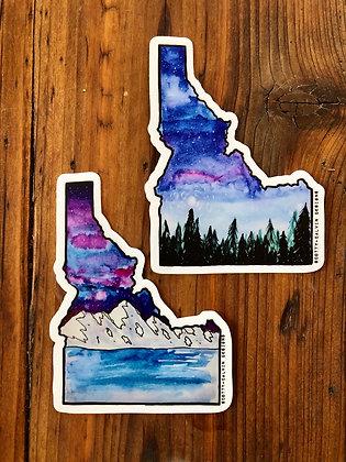 Idaho Sticker Pack (2 Stickers)