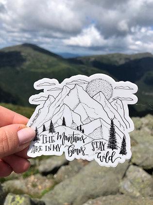 B+W Mountains in my Bones