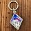 Thumbnail: Mtn Galaxy Diamond Acrylic Key Chain