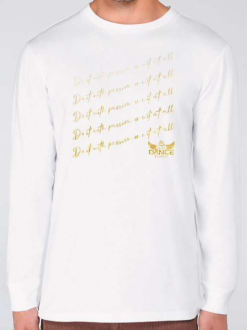 """EDA Longsleeve Special Edition """"Passion"""" White"""