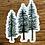 Thumbnail: Watercolor Pine Trees