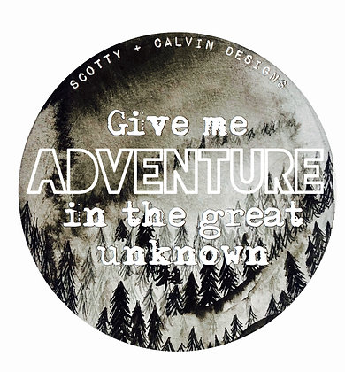 """Give Me  Adventure 3x3"""""""