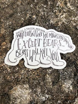 Snarky Bear small