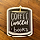 Thumbnail: Coffee, Candles, + Books Sticker