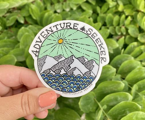 Adventure Seeker Sticker-Color
