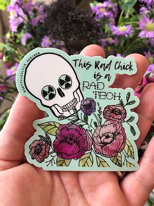 Rad Tech Sticker