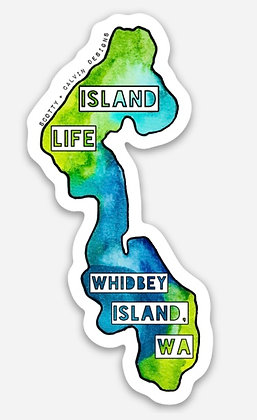 """Whidbey Island, WA """"Island Life""""-Large"""