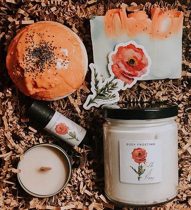 Wholesale Fields of Poppy Gift Set