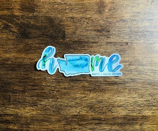 "WA ""Home"" Bumper Sticker"