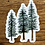 Thumbnail: Wholesale Watercolor Pine Trees
