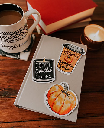 Fall Vibes Sticker Pack