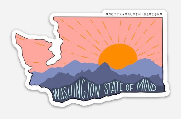 WA State of Mind-Pink