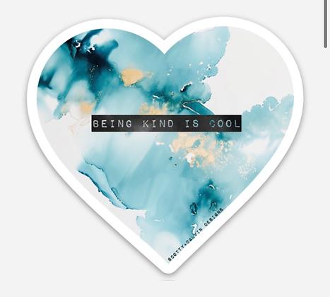 Kindness is Cool Bumper Sticker