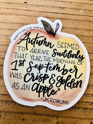 Golden Apple Sticker