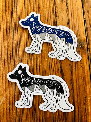 "Wholesale  Fox ""Sky Full is Stars"" Sticker"