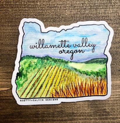 Oregon State Willamette Valley