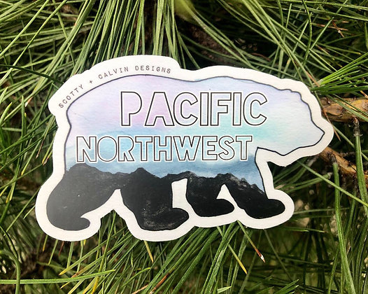 Pacific Northwest Bear- Large