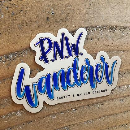 "PNW Wanderer 3x2.1"""