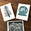 Thumbnail: Hand- Stamped Holiday Cards
